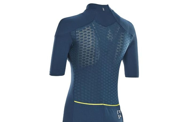 TRIBAN CYCLING SHORTSLEEVES JERSEY 500 WOMAN W