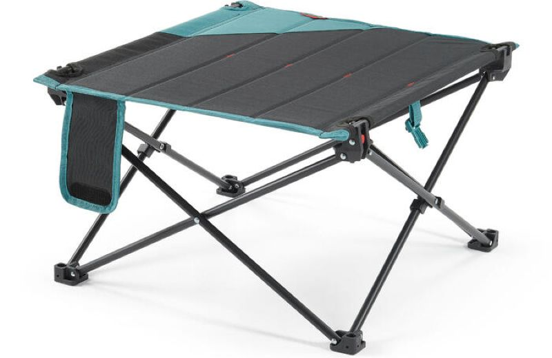 QUECHUA LOW TABLE MH100 GREY SS21