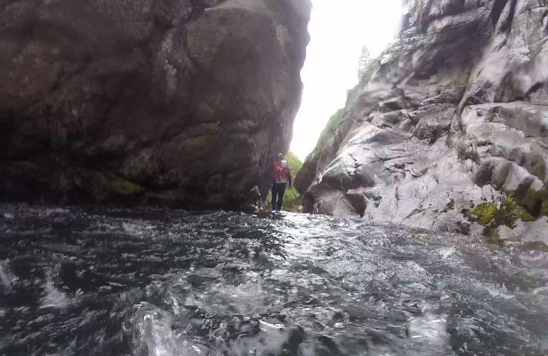 Fluir del torrente