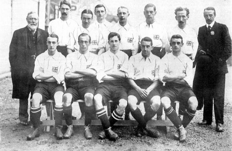 London_1908_English_Amateur_Football_National_Team