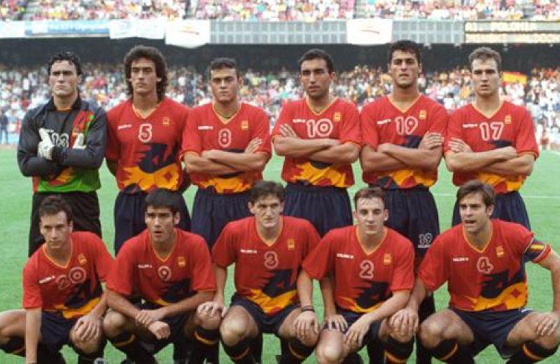 once-de-los-campeones-olimpicos-de-barcelona-92--efe-archivo