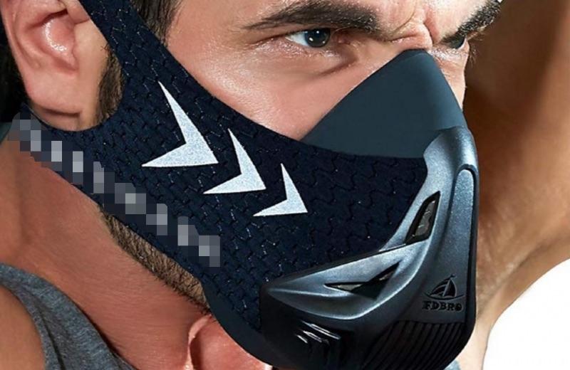 máscara entrenamiento