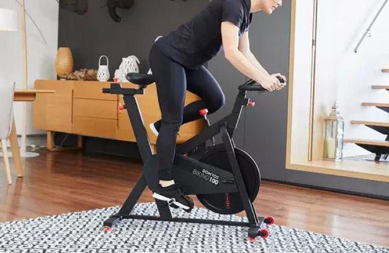 spinning Bicicleta ciclo indoor Domyos Biking 100