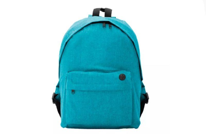 mochila rolly azul