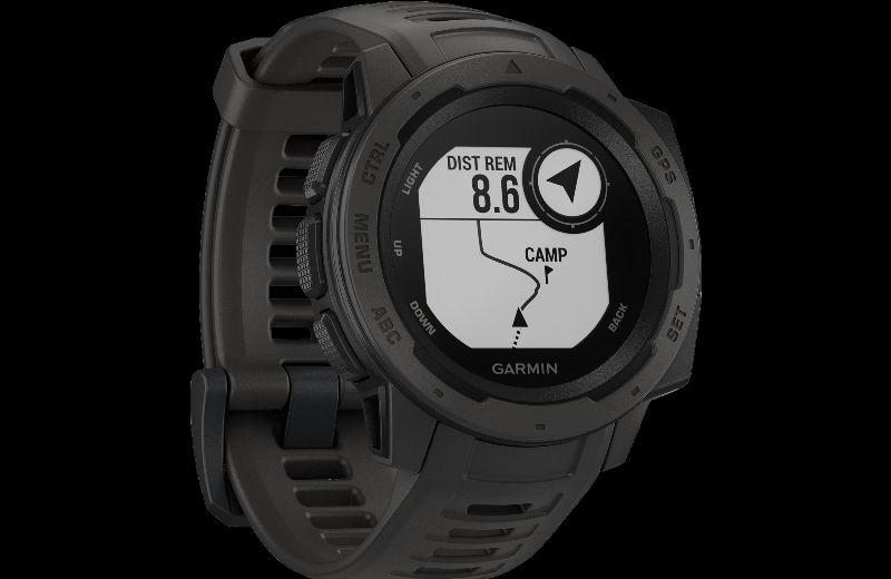 GARMIN MONTRE GPS INSTINCT - 205 --- Expires on 02-12-2028