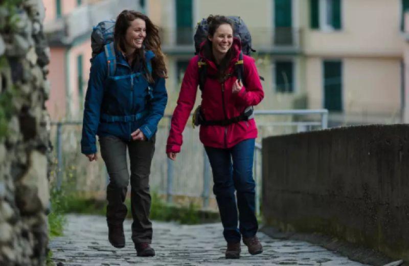 Chaqueta trekking Rainwarm 500 3 en 1 mujer