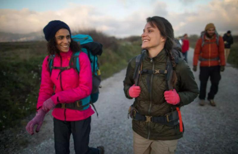 Abrigo Chaqueta 3 en 1 Montaña y Trekking Forclaz Travel 700 Mujer