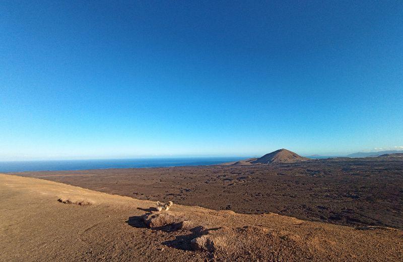 panorama caldera blanca Lanzarote
