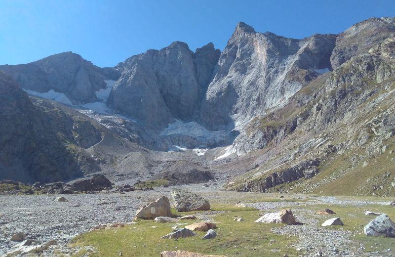 Cara norte del pico Vignemale.