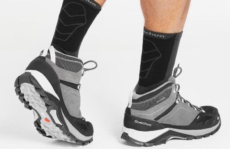 Chaussure MH500 Mid WTP Gris 2019