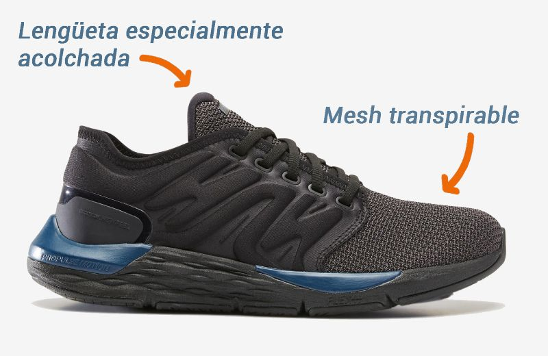 transpirable_lengüeta acolchada_ zapatillas-caminar-sportwalk confort newfeel