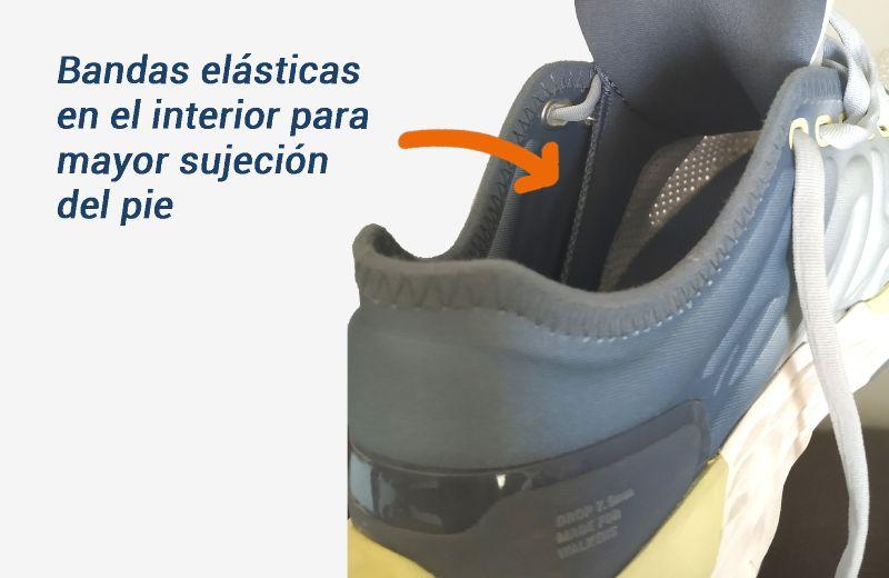 zapatilla-caminar-newfeel-sportwalk confort-bandas sujeción del pie