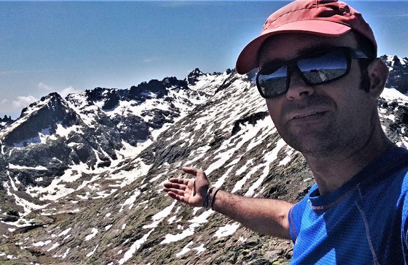 Andrés Arias, guía de montaña UIMLA