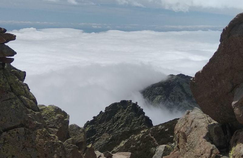 Niebla en la comarca de la Vera