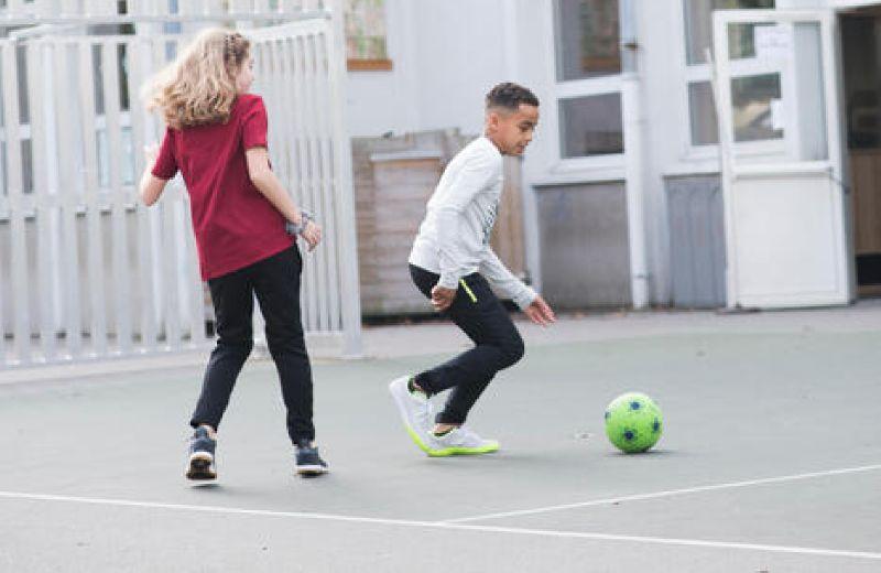 IMVISO Kids' Futsal Ginka 500 - Grey SS20