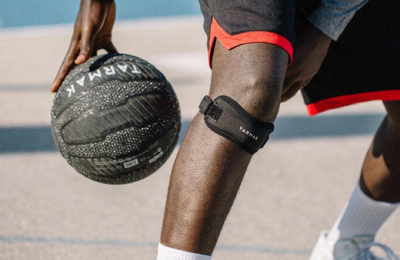 knee strap black