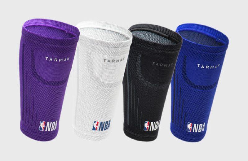 TARMAK *CALF SOFT 300 NBA NETS GREY