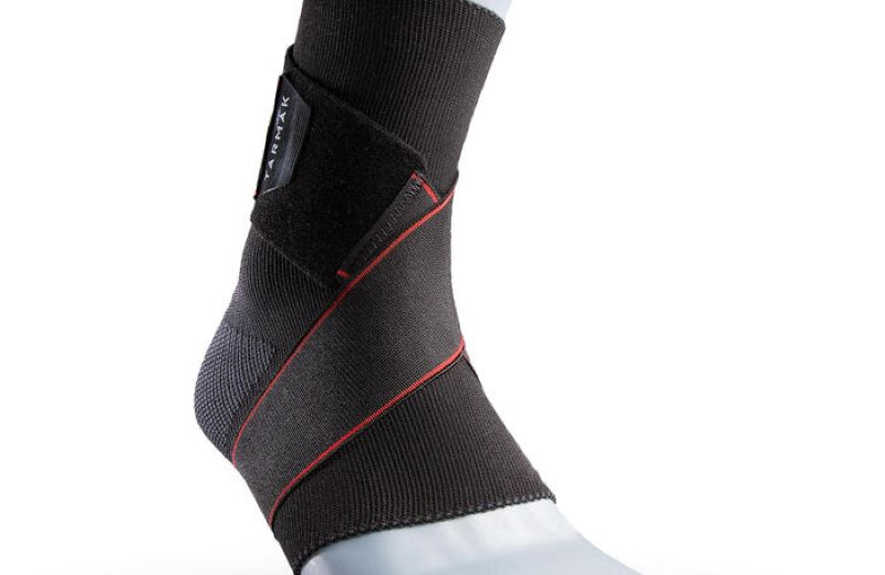 TARMAK Strong 100 Ankle Support Black