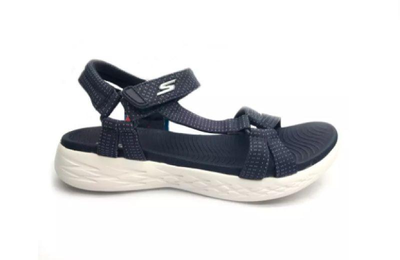 Sandalias mujer Skechers azul