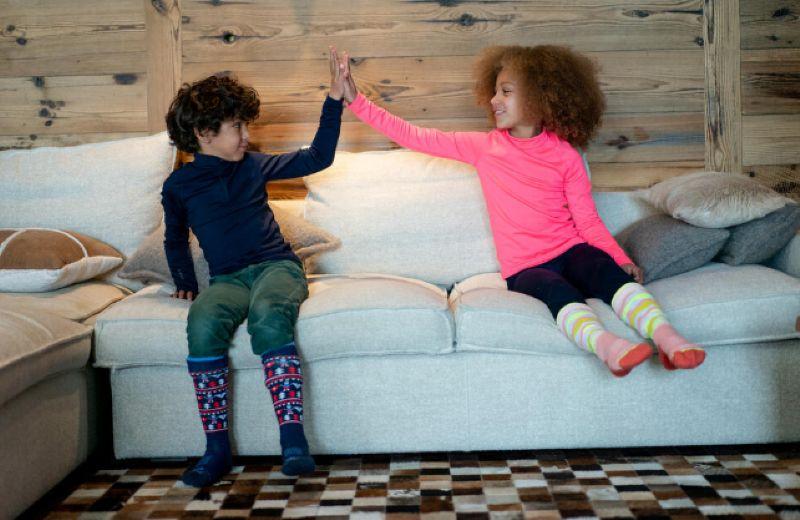 niños disfrazandose