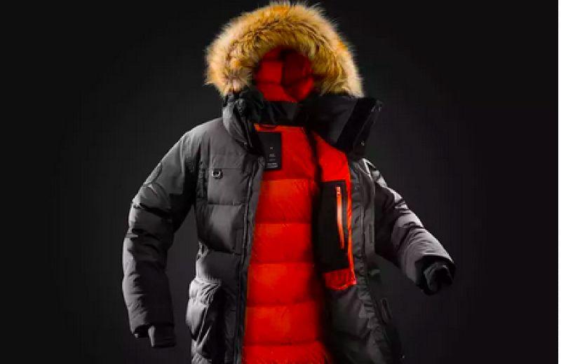 chaqueta trekking artico forclaz