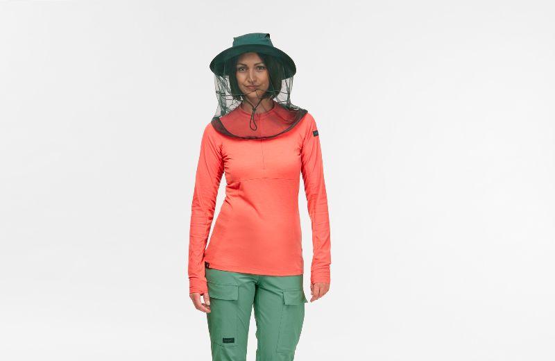 sombrero antimosquitos
