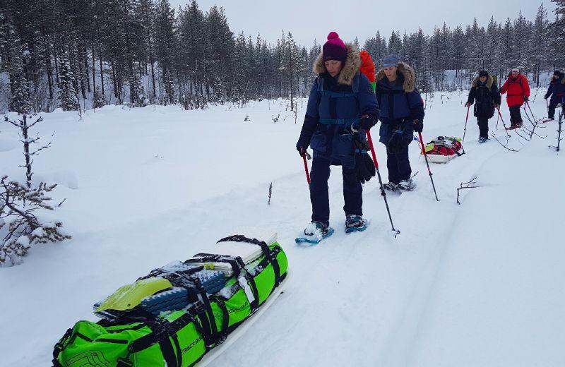 trekking por el artico