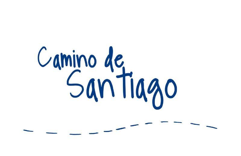 Camino santiago Blanco