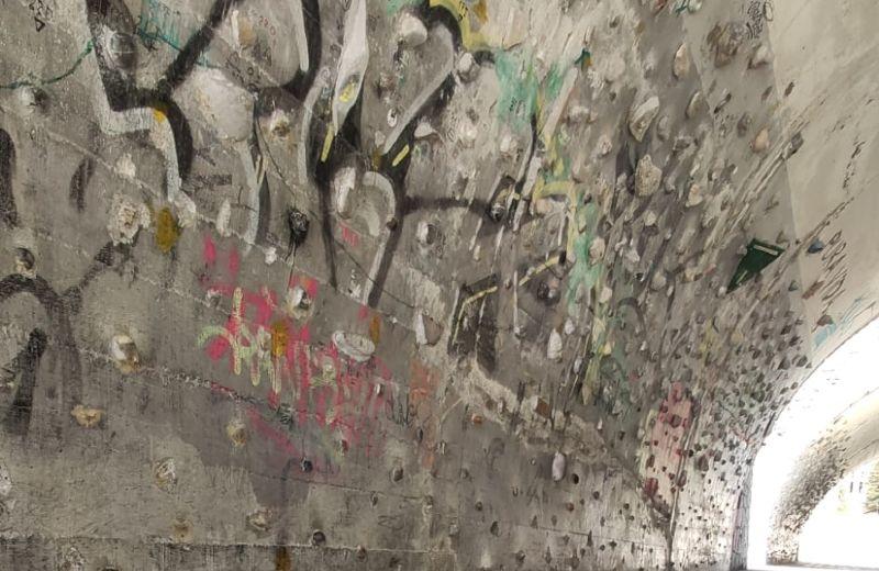 Interior túnel Txurdinaga