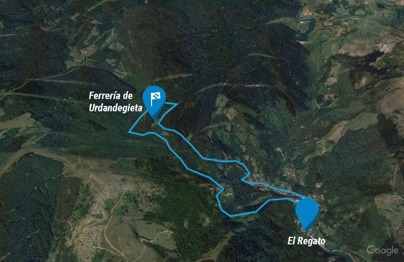 mapa-ruta-ferreria-urdandegieta-barakaldo