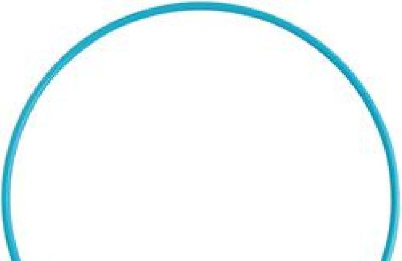 Aro de gimnasia Azul