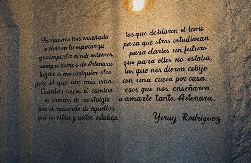 Versos dedicados a Artenara