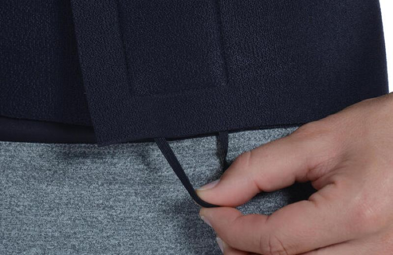 ceinture de sudation sweat - fitness mixte noire