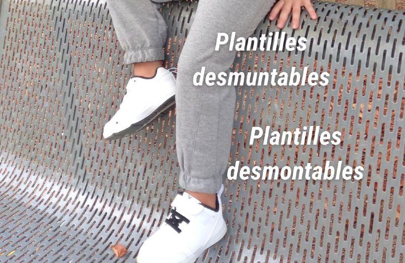 zapatillas blancas vuelta al cole primeros pasos