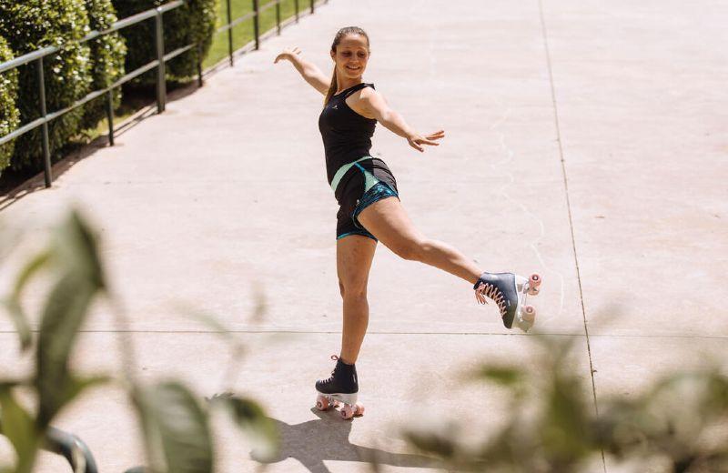 roller skates quad artistic