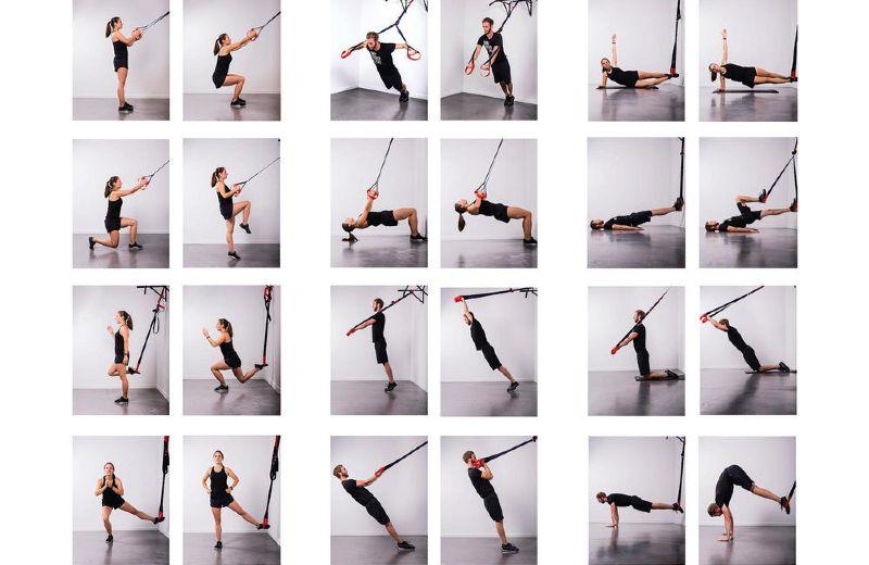 Ideas TRX ejercicios
