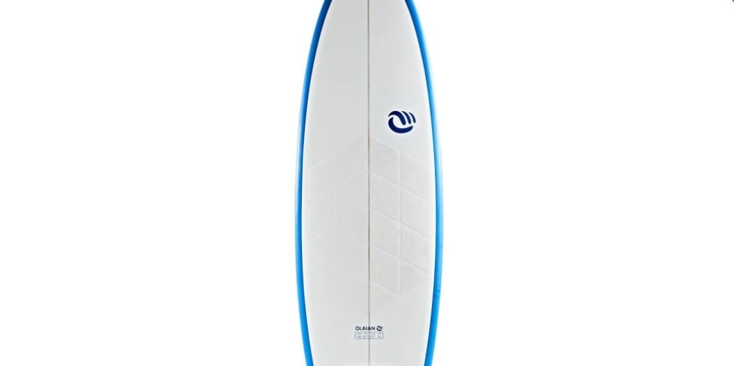 Pad no wax en tabla de surf