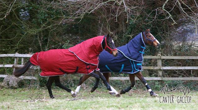 mantas caballo equitación
