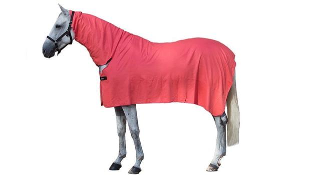 mantas para caballos neck cover rojo