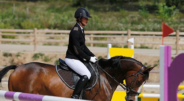 Las ayudas como lenguaje entre jinete y caballo