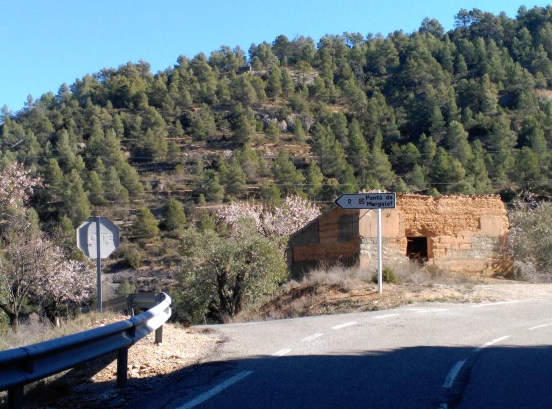 carretera margalef