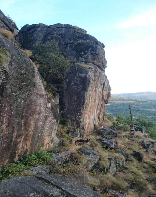 escalada en las monjas cabezuela del valle extremadura