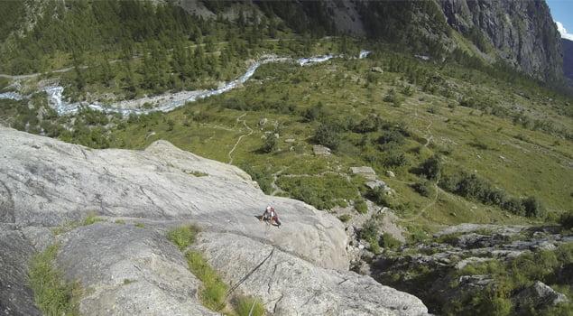 escalada en los alpes franceses
