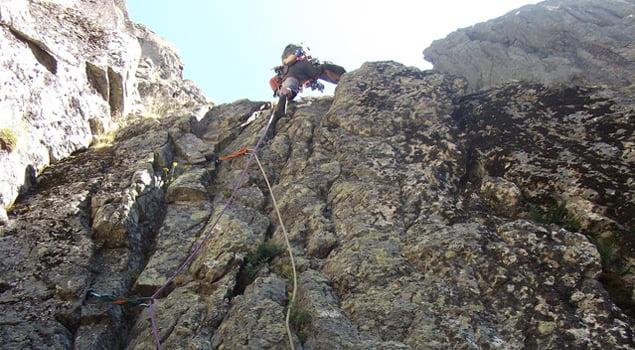 escalada en los galayos
