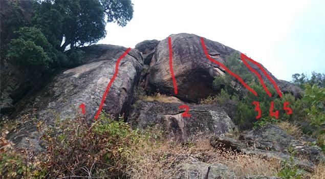cabezuela del valle escalada en las monjas