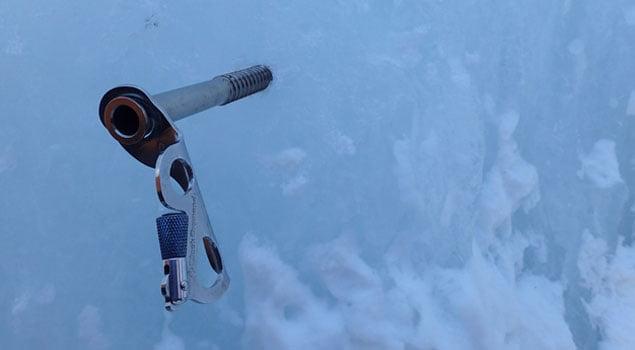 Tornillos de escalada para hielo