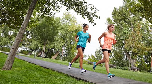 chicas-running