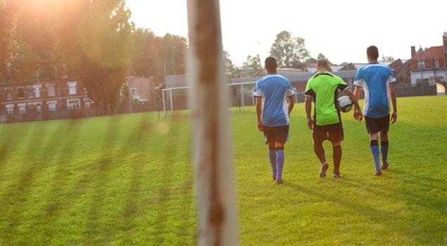 seguridad en el futbol-antes de jugar