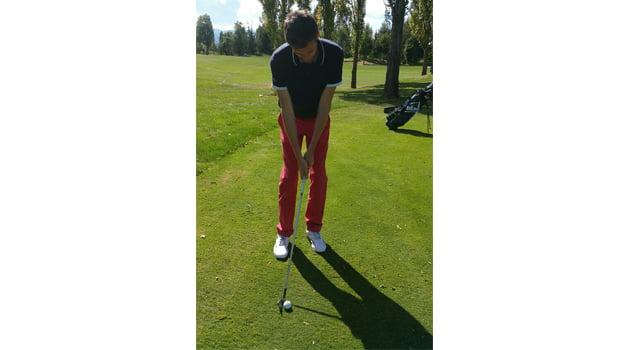 el chip rodado tecnica golf_