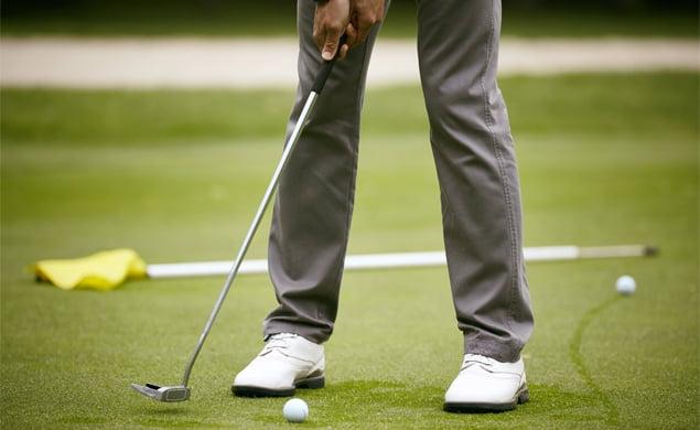 elegir zapatos de golf